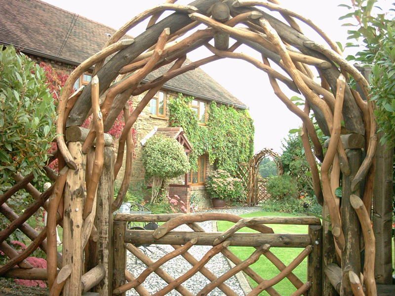 21 cool garden archways covered with flowers shelterness. Black Bedroom Furniture Sets. Home Design Ideas