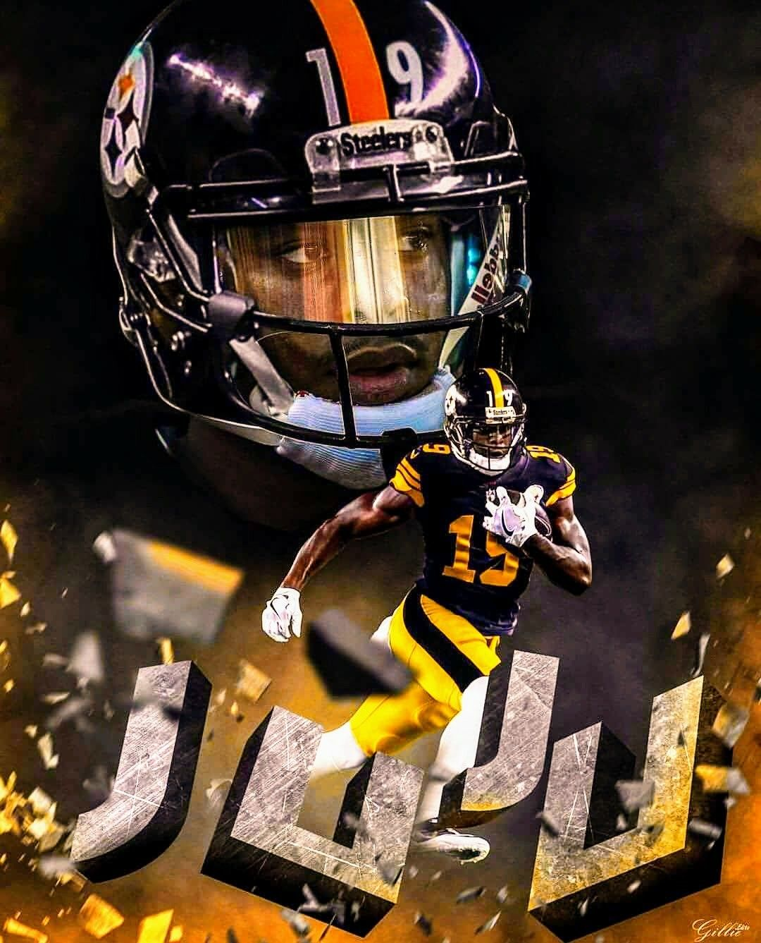 552d6cdcd1f steelergalfan4life 🖤💛 - JuJu Smith-Schuster WR Pittsburgh Steelers  Players
