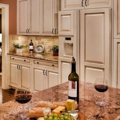 Crema Bordeaux Granite With White Cabinets Google Search