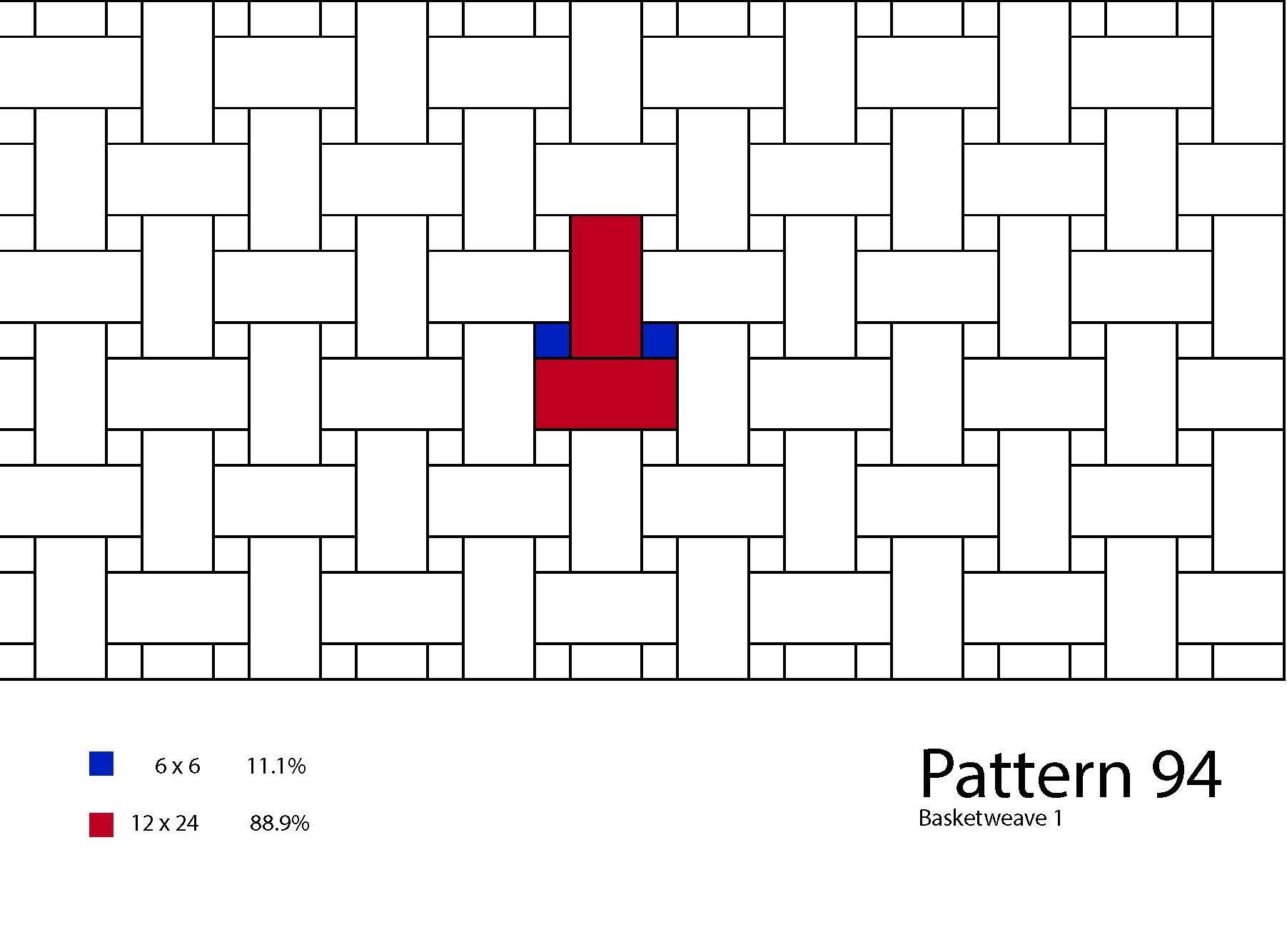 Tile Floor Patterns In