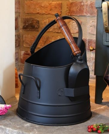 N419 - French Coal Bucket with Shovel | Home/Interiors/Exteriors ...