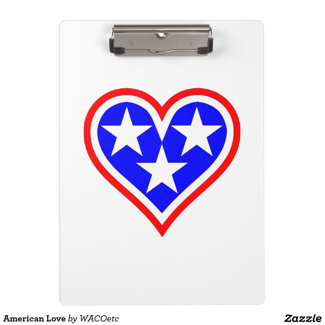 American Love Clipboards