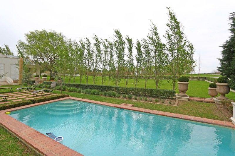 Exquisite Lifestyle Farm For Sale In Durbanville Small Backyard