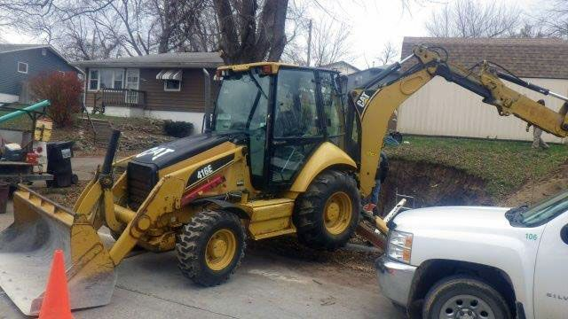Used Cat 416E SHA01461 BackHoe For Sale in USA   #For_Sale