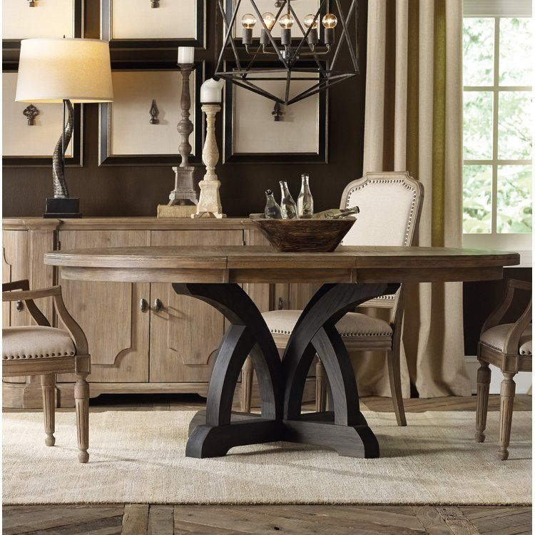 Corsica Extendable Dining Table Round Wood Dining Table Round