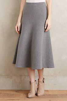 Trumpet Sweater Skirt