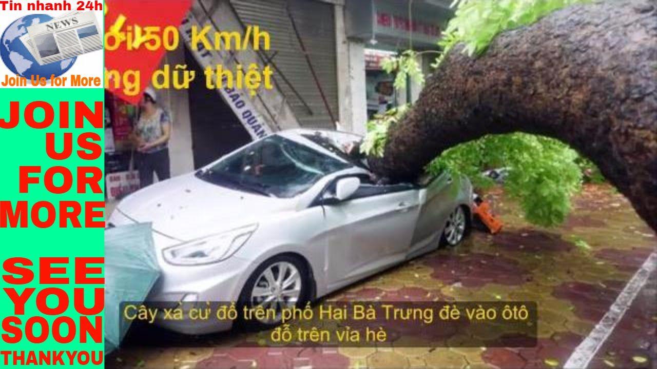 Tin nhanh 24h: Một người chết 5 người bị thương do mưa bão ở Hà Nội