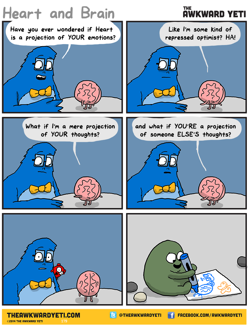 The Awkward Yeti comics. Funny humor and oddities. Have a