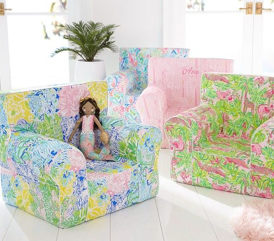 Lilly Pulitzer Neckin Anywhere Chair 174 Comfy Chairs