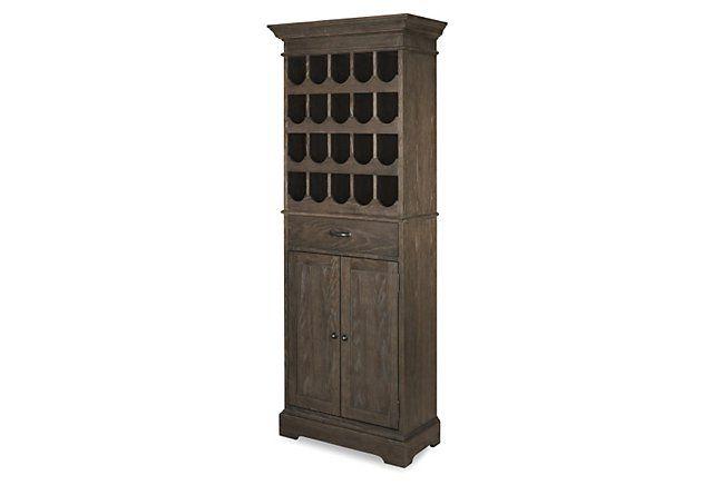 Frisco Bar Cabinet, Mocha   One Kings Lane