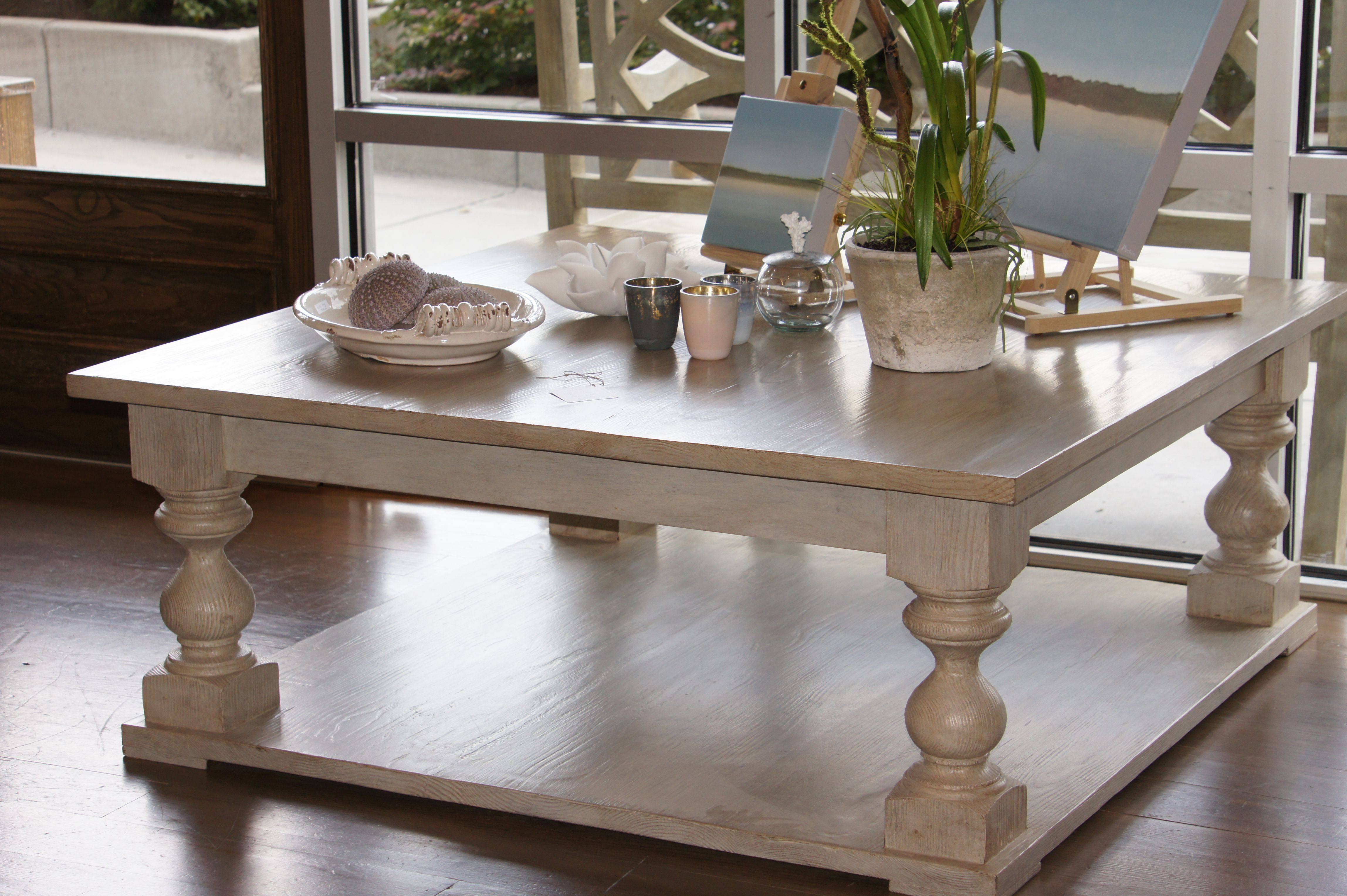 square baluster base coffee table june 2012 coffee tables