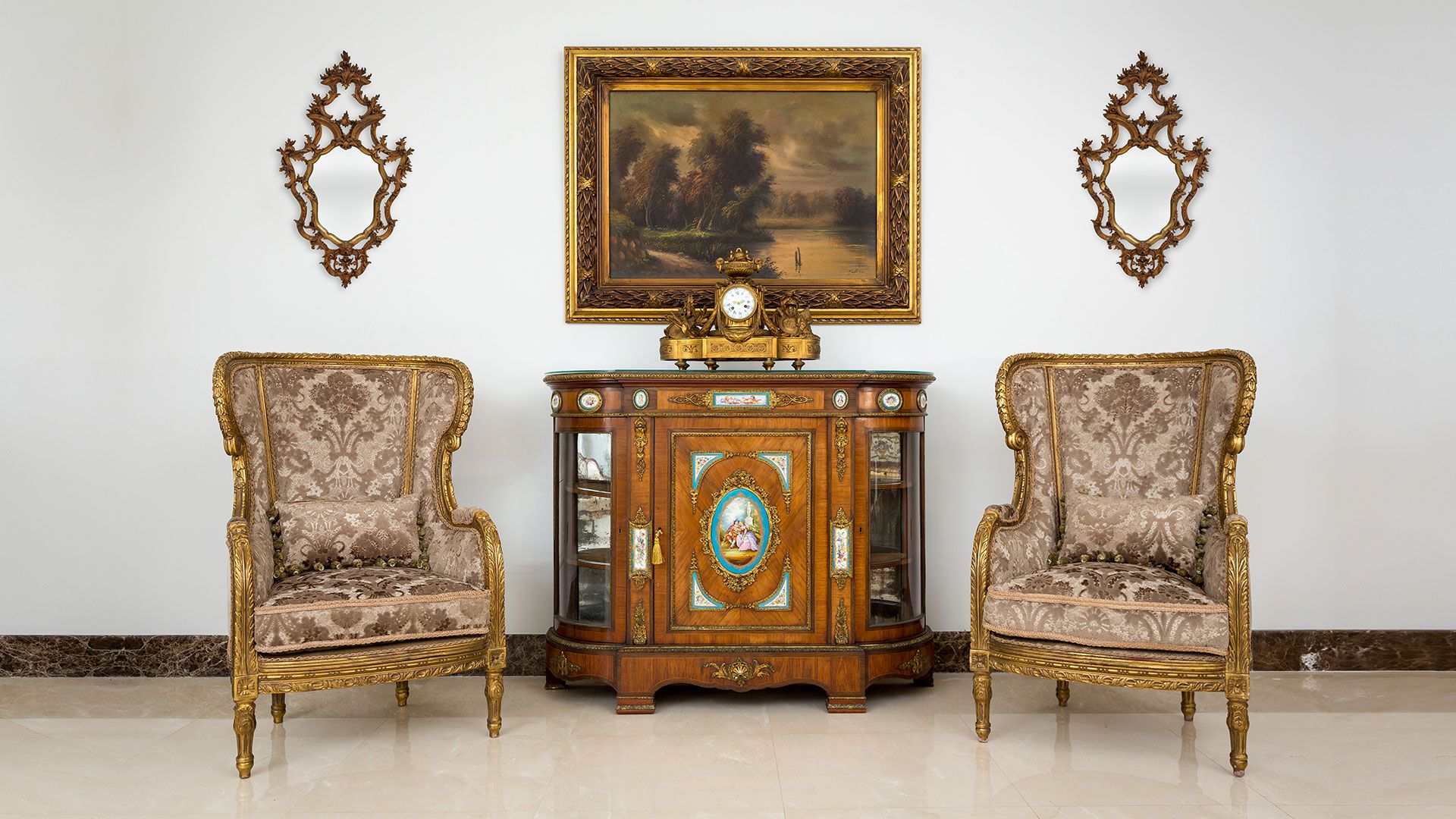 Beautiful Antique Furniture Collection Dubai UAE