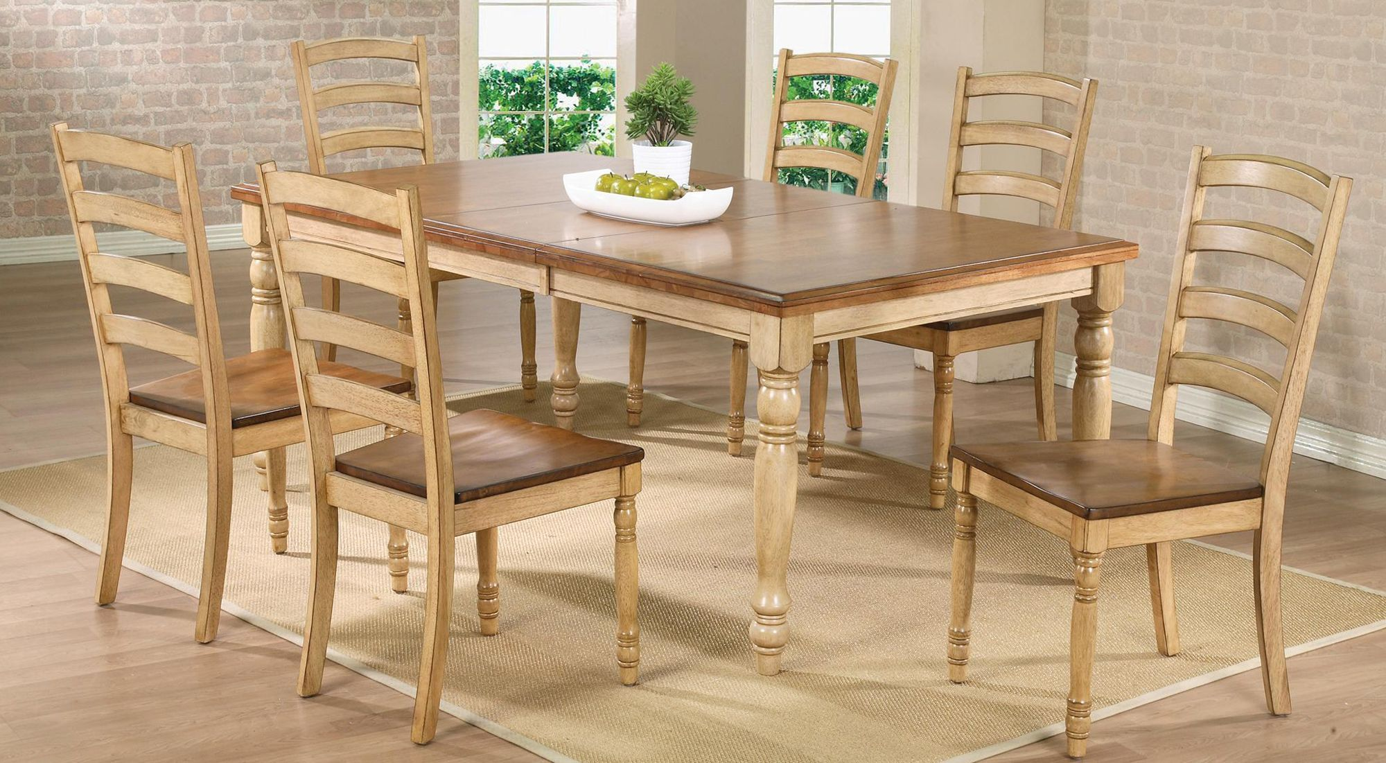 Rc willey dining set 9 pc, $9   Affordable dining room sets ...