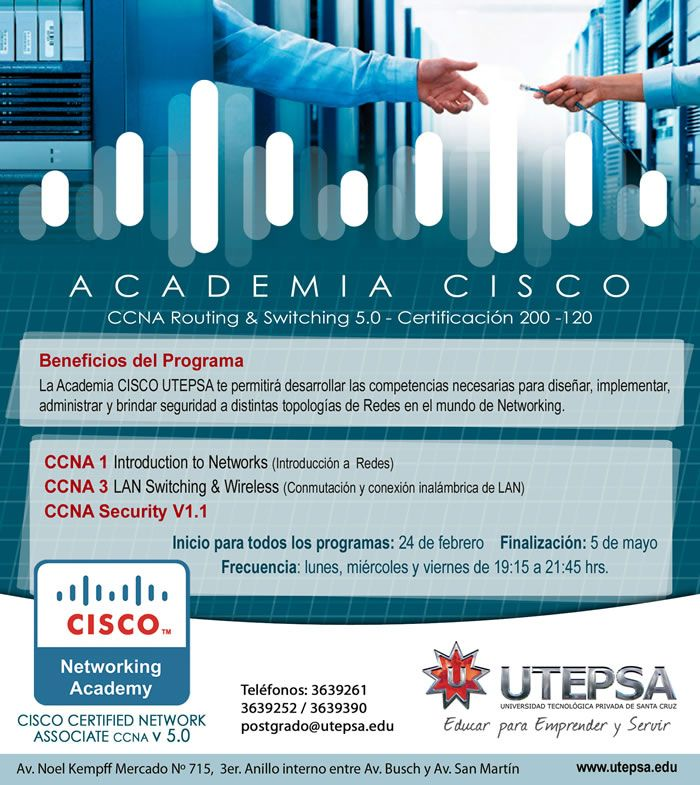 UTEPSA - Academia Cisco