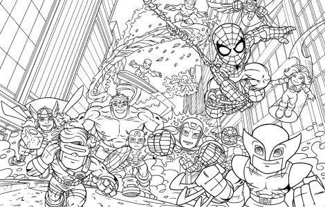 Lego Coloring Pages Batman   FCAT Week   Avengers coloring ...