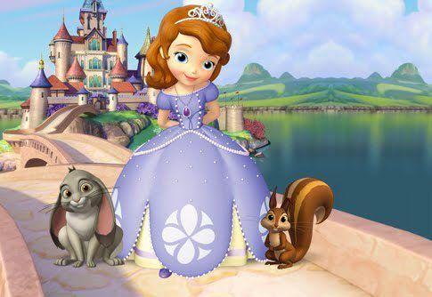 La Princesa Sofía Nueva Serie De Disney Jr Eslatele Disney Princess Sofia Princess Sofia The First Sofia The First