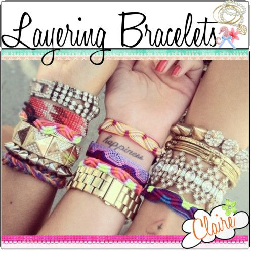 layering bracelets and watches - Google Search