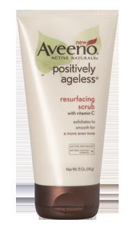 Aveeno positively ageless scrub