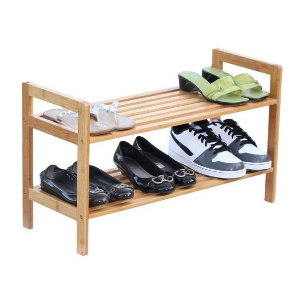 Reception Office Wooden Shoes Rack