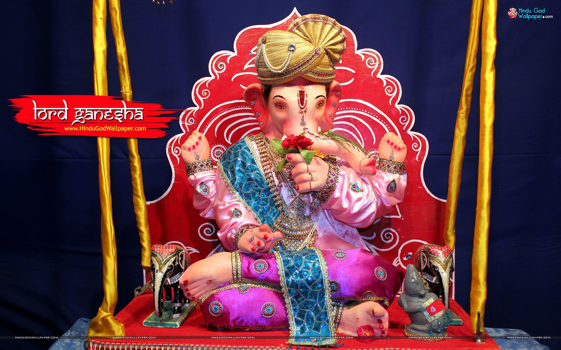Lord Ganesh Wallpaper High Resolution HD Download