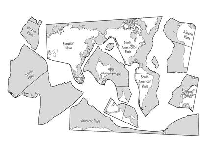 Plate tectonics jigsawc landformsearthquakes pinterest plate tectonics jigsawc gumiabroncs Gallery