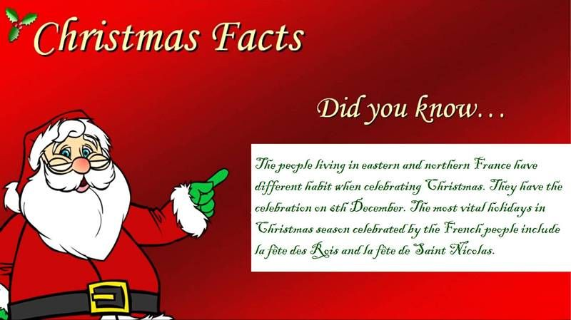 Interesting Merry Christmas (Xmas) Facts & Trivia For Kids Students | Christmas fun facts, Xmas ...