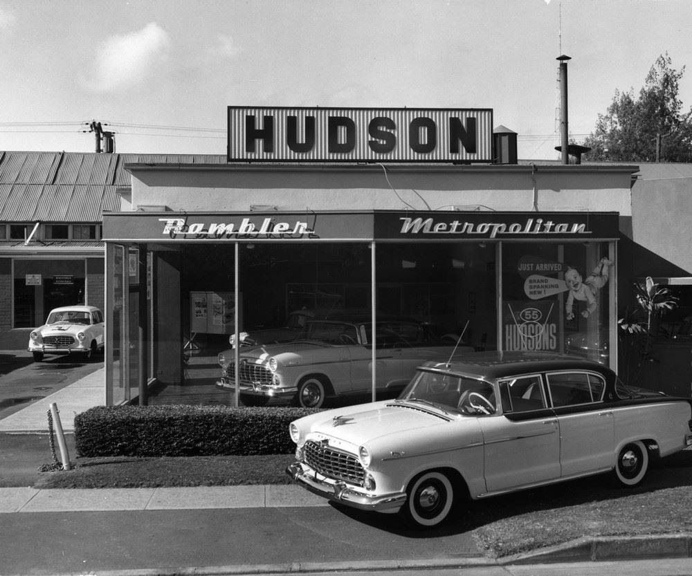 Hudson dealership. Ramblers too! | Classic Speed & Style | Pinterest ...