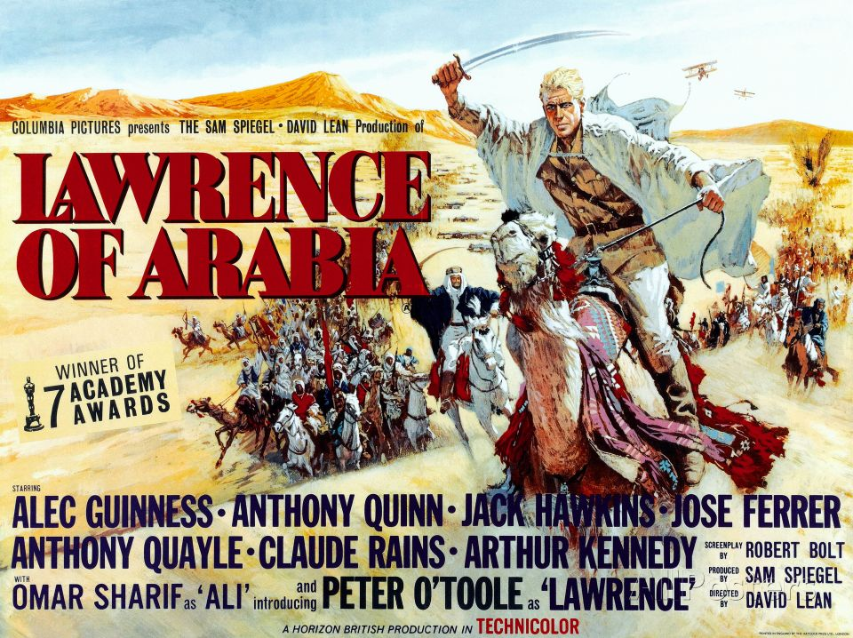 Lawrence of Arabia Poster at AllPosters.com