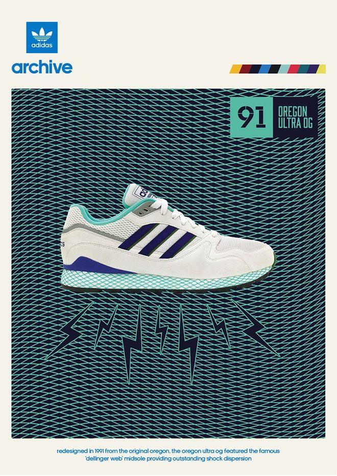 innovative design 170cb bfacc adidas Originals Oregon Ultra Tech OG – size  UK exclusive Sneaker Posters, Adidas  Men