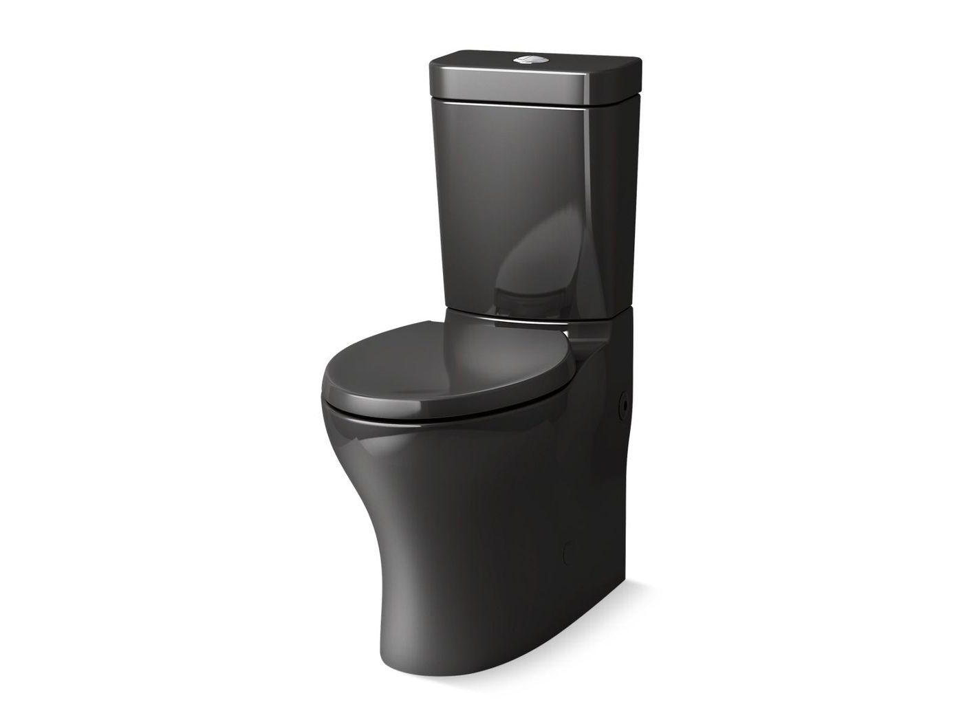Comfort Height Black Toilet In 2020 Black Toilet Comfort Height