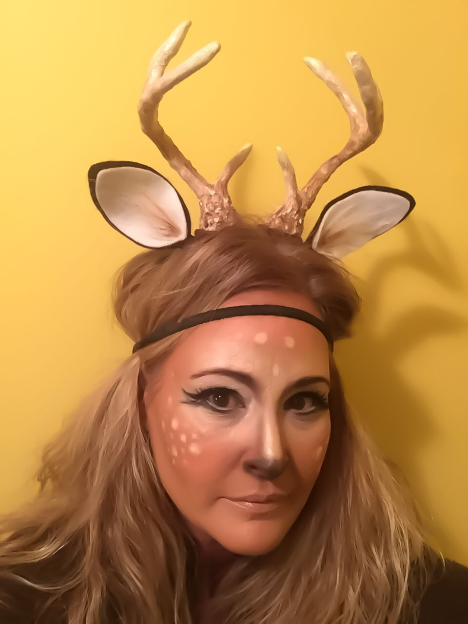 halloween ideas makeup deer antler costume httpswwwetsycomshopwoodnhooks