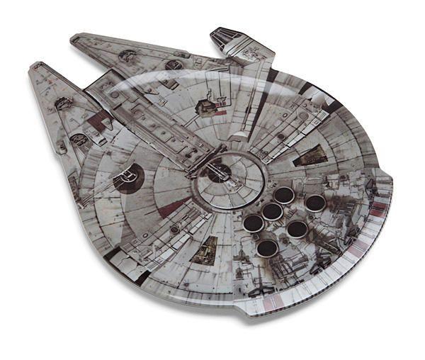 Millennium Falcon serving platter.