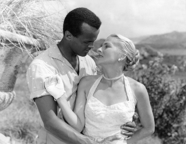 Image result for fontaine and belafonte in island in the sun