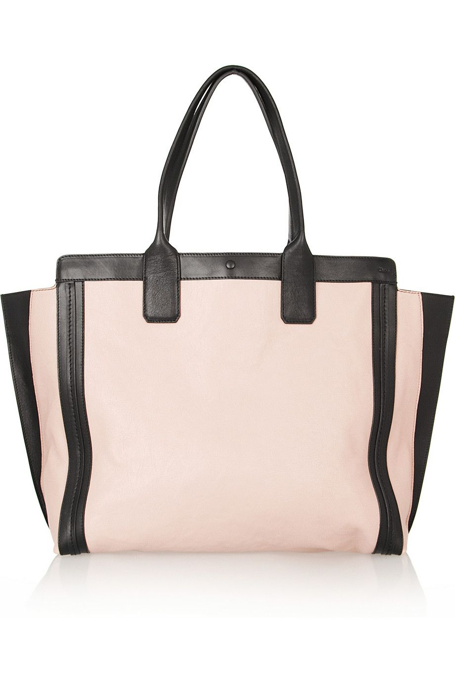 Chloé | The Alison leather shopper | NET-A-PORTER.COM