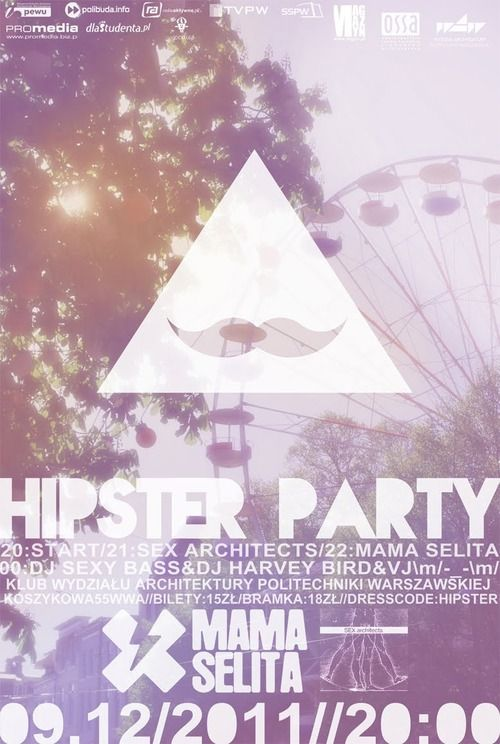 hipster party Tumblr Hipster Party Theme Pinterest Hipster party