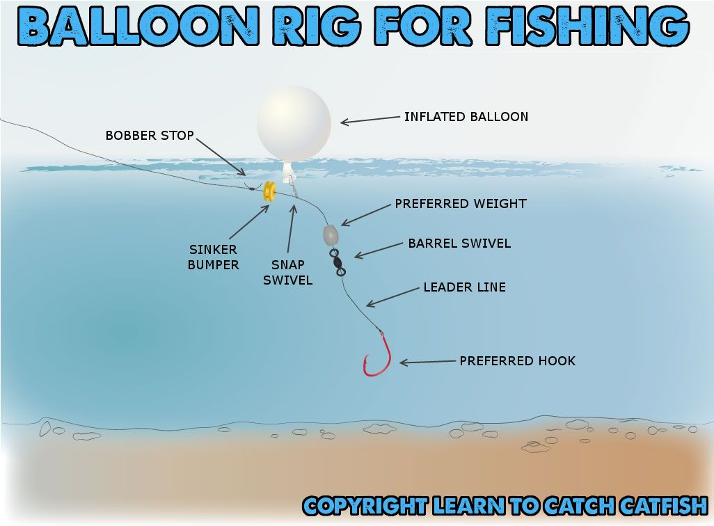 Balloon fishing with balloon rigs a great way for shore for Red drum fishing rigs