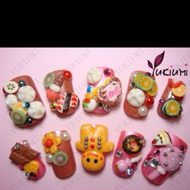 Japanese nail art | nails | Pinterest | Japanese nail art, Nail art ...