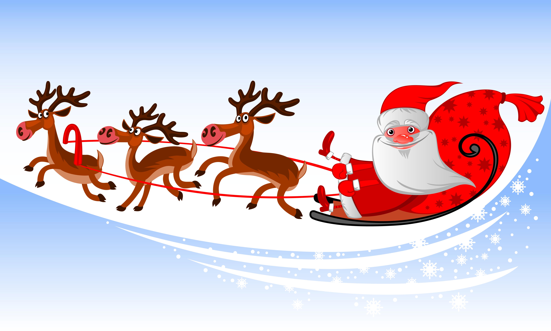 Very happy Santa Claus images