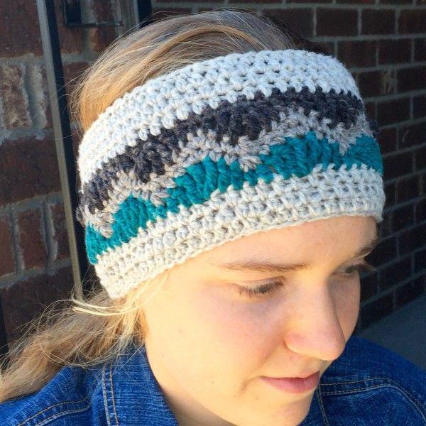 Crochet Pattern - Alpine Ear Warmer to fit Toddlers, Children ...