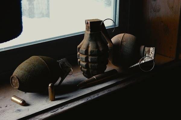 Wien 22. Bezirk Kriegsmaterial entdeckt Granaten
