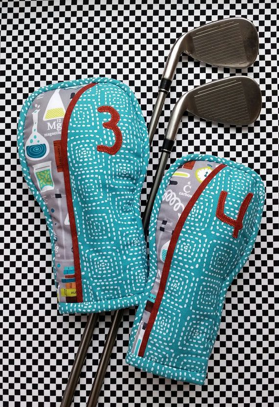 ffdf510694cc3a Golf Club Head Cover Sewing Pattern Off Center | Sewing | Golf club ...