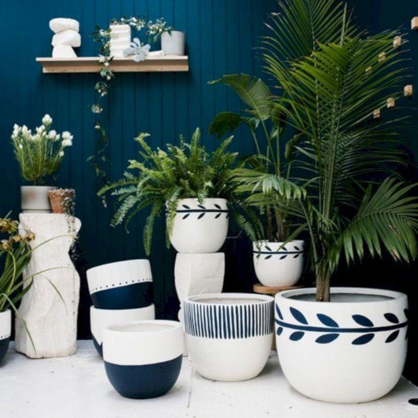 39 Modern Flower Pots Ideas For Indoor Use Paint Garden Pots