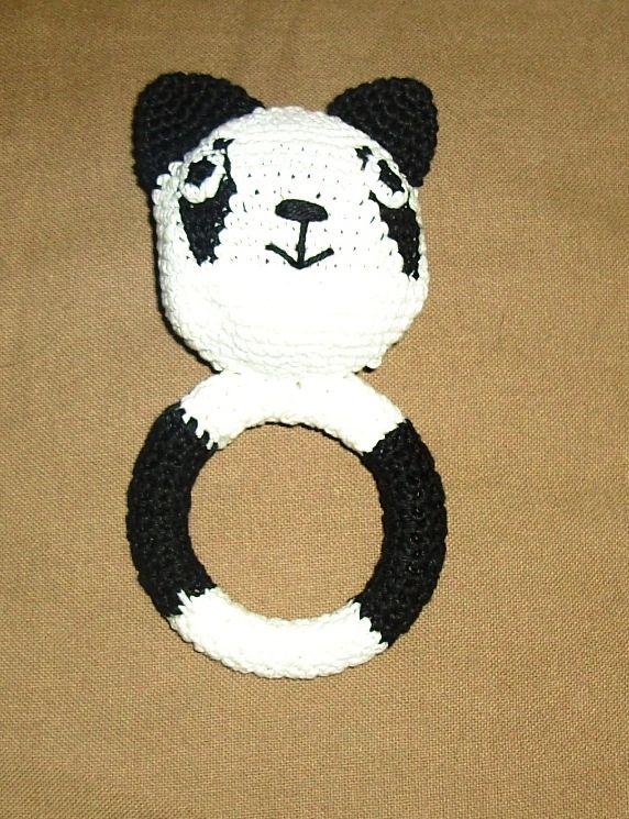 Gehaakte Pandabeer Rammelaar Gratis Patroon Via Httpswww
