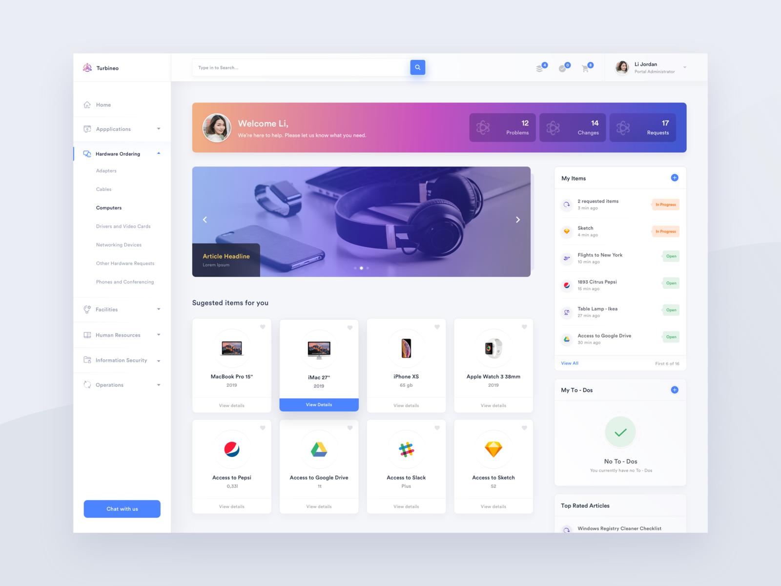 Employee Service Portal Portal Design Best Web Design Web Design Quotes