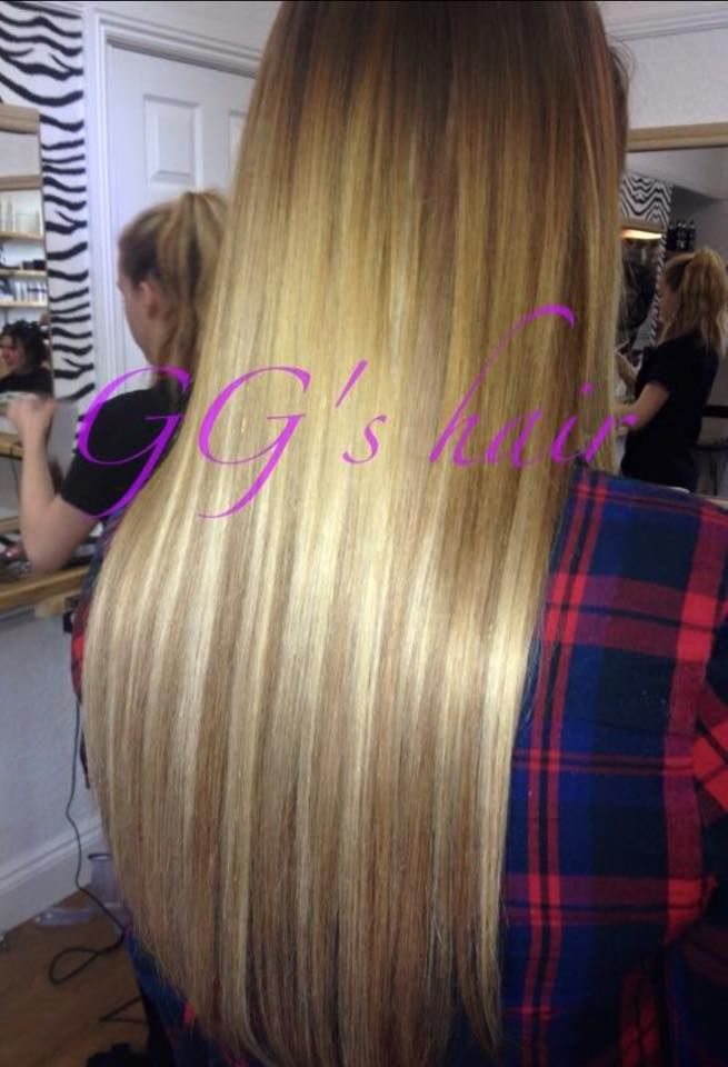 Ggs Hair Extensions Fitted At Ggs Salon Prices Start From Only
