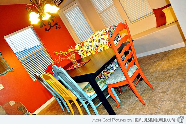15 Mix And Match Eclectic Dining Rooms  Room Mismatched Chairs Glamorous Eclectic Dining Room Sets 2018