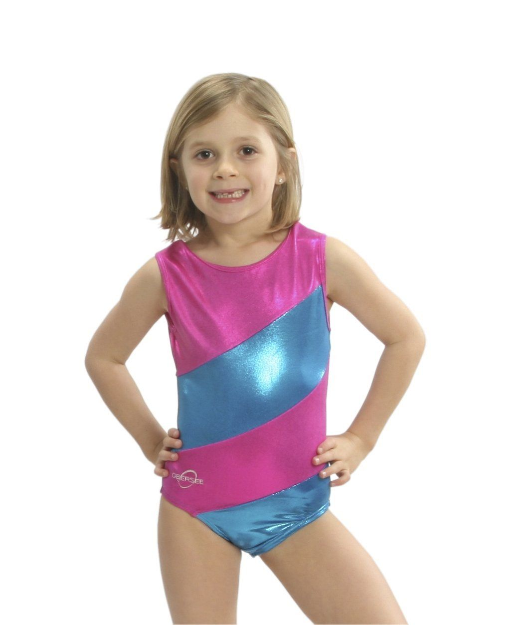 7855dbe5d552 Amazon.com : Obersee Girl's Gymnastics Leotard : Sports & Outdoors ...
