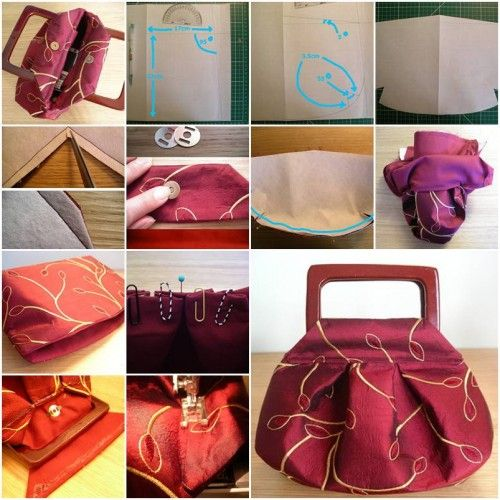 How To Make Cute Fashionable Handbag Step By Diy Tutorial Instructions
