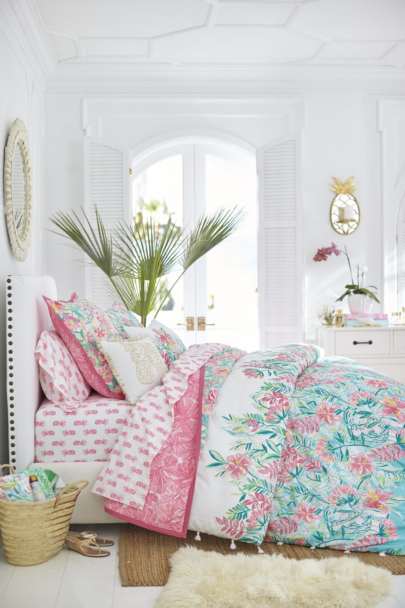 Pottery Barn And Lilly Pulitzer Home Decor Collection For