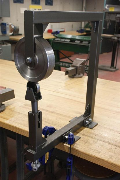 Design And Build An English Wheel English Wheel Welding Projects Metal Working Tools